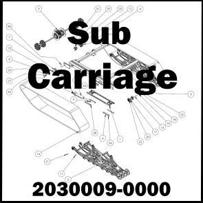SUB CARRIAGE ASSEMBLY: 2030009-0000